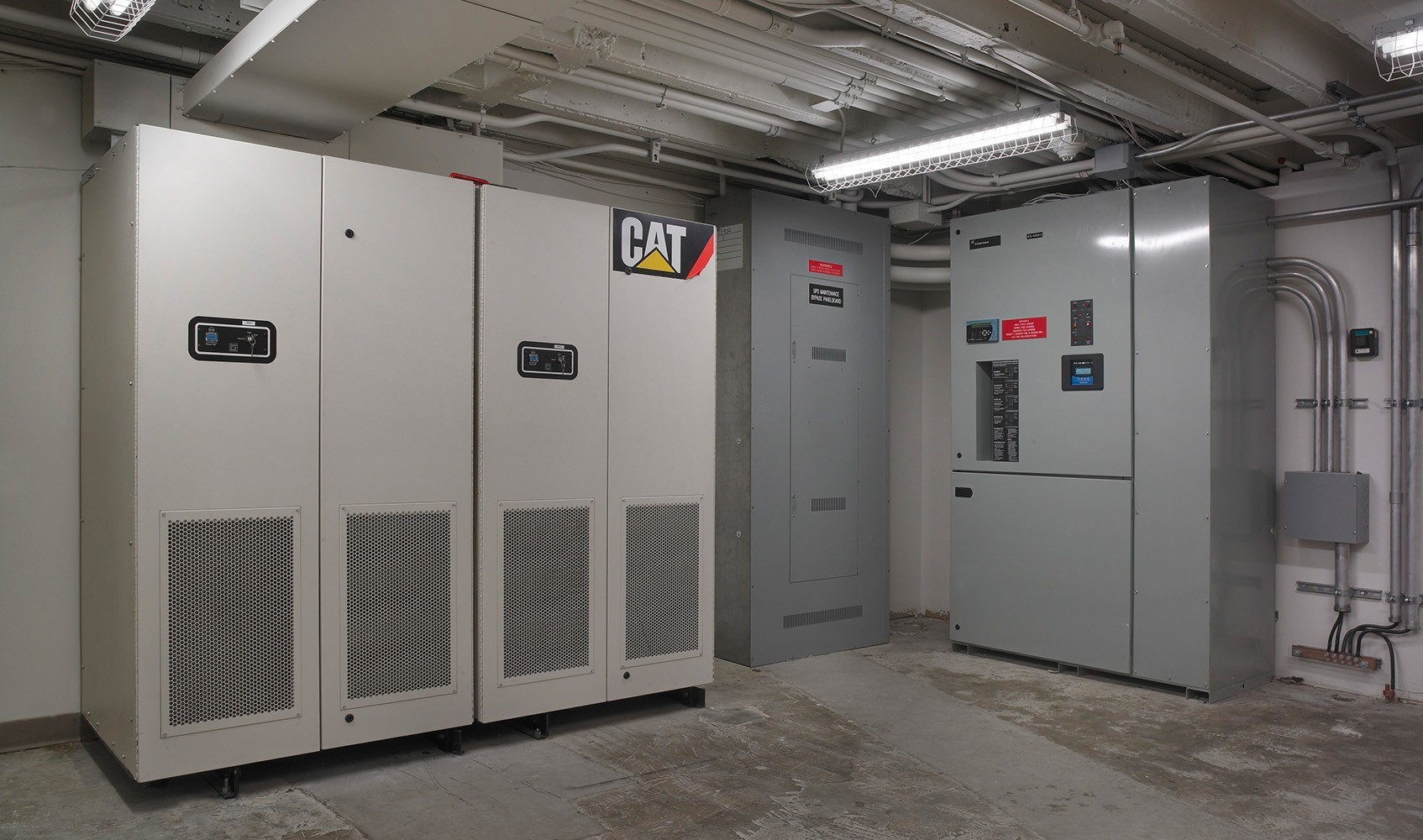 Deaconess Midtown Hospital Centralized Flywheel Ups System